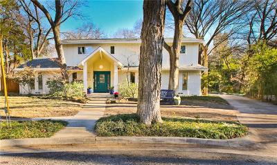 Dallas Single Family Home For Sale: 9052 Mercer Place