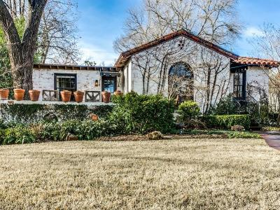 Dallas Single Family Home For Sale: 603 Monte Vista Drive
