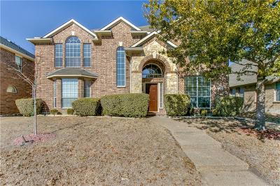 Frisco Single Family Home Active Option Contract: 10612 Coach House Lane