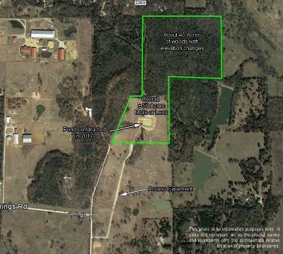 Farm & Ranch For Sale: 59 Ac Springs Road