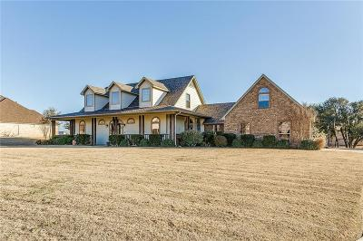 Weatherford Single Family Home For Sale: 111 Wood Oak Trail