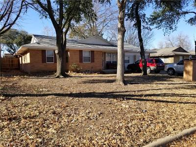 Allen Single Family Home Active Option Contract: 411 N Bonham Drive