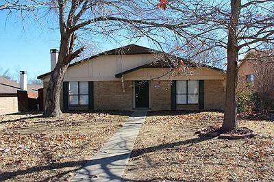 Garland Residential Lease For Lease: 1406 Frio Lane