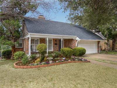Fort Worth Single Family Home For Sale: 2616 Highview Terrace