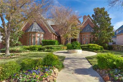 Coppell Single Family Home Active Option Contract: 610 Stratford Lane