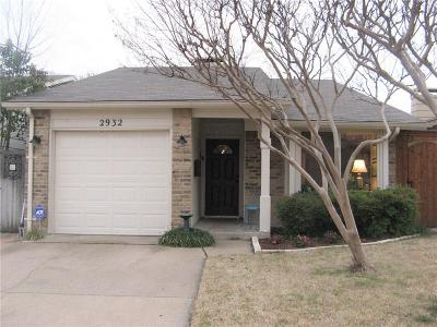 Garland Single Family Home For Sale: 2932 Pegasus Drive
