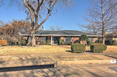 Richardson Single Family Home For Sale: 534 Lawnmeadow Drive