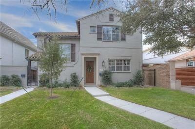 Fort Worth Townhouse For Sale: 4711 Dexter Avenue