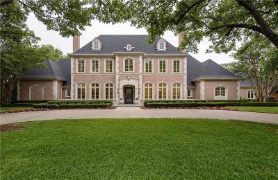 Dallas Single Family Home For Sale: 9025 Douglas Avenue