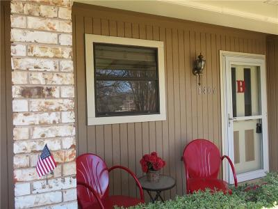 Stephenville Single Family Home Active Option Contract: 1406 Prairie Wind Boulevard