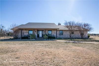 Abilene Single Family Home For Sale: 273 Avenida De Leon
