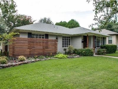 Dallas Single Family Home For Sale: 7103 Dalewood Lane