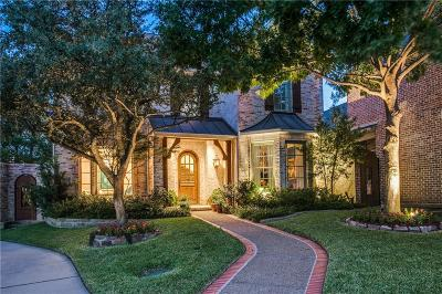 Dallas TX Single Family Home For Sale: $1,189,000