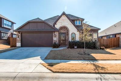 Aubrey Single Family Home For Sale: 8112 Canyon Drive