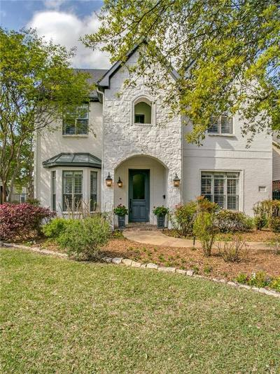 Dallas TX Single Family Home For Sale: $799,000
