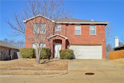 Denton Single Family Home For Sale: 8700 Serenity Way