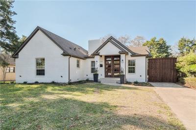Dallas Single Family Home For Sale: 6519 Oriole Drive