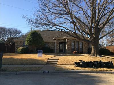 Garland Residential Lease For Lease: 2601 Ridge Oak Place