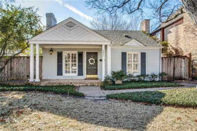 Single Family Home Active Contingent: 3921 Amherst Avenue