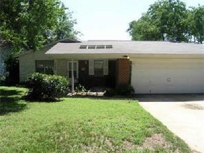 Arlington Single Family Home For Sale: 1724 Sylvan Drive