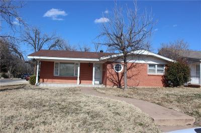 Abilene Single Family Home Active Option Contract: 702 E North 11th Street