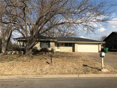 Stephenville TX Single Family Home For Sale: $145,000