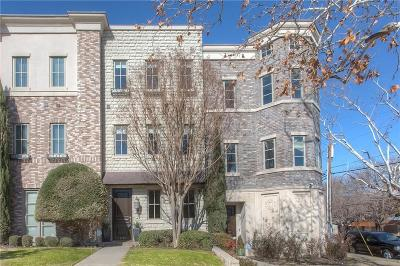 Fort Worth Townhouse For Sale: 4702 Dexter Avenue