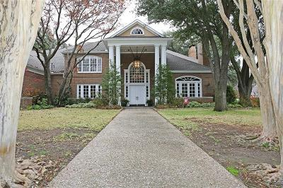 Dallas Single Family Home For Sale: 5605 Bent Tree Drive