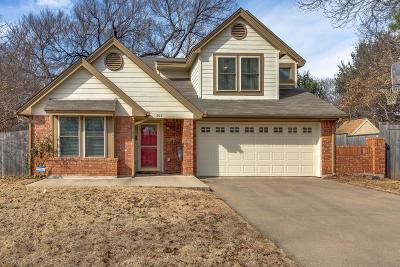 Grapevine Single Family Home For Sale: 507 Dove Creek Place