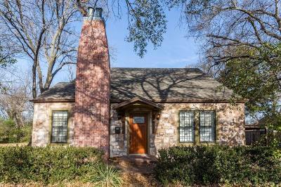 Corsicana Single Family Home Active Option Contract: 1512 Elmwood Avenue