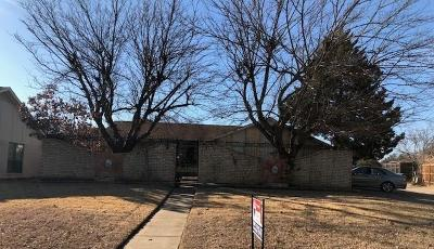Lewisville Single Family Home For Sale: 1638 Chisolm Trail