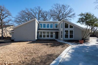 Irving Single Family Home Active Contingent: 1312 Broadmoor Lane