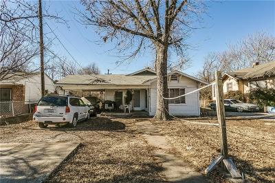 North Fort Worth Single Family Home Active Option Contract: 1805 Denver Avenue