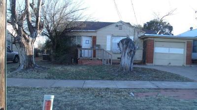 Abilene Single Family Home For Sale: 117 College Drive