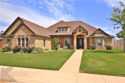 Abilene Single Family Home For Sale: 2110 Southridge Crossing