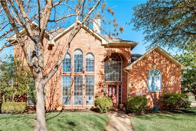 Allen Single Family Home For Sale: 1204 Bel Air Drive