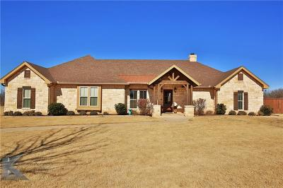Abilene Single Family Home For Sale: 218 Prairie Creek Way