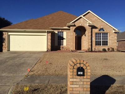 Mesquite Single Family Home For Sale: 1201 Covington Drive