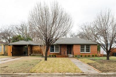 Fort Worth Single Family Home For Sale: 4240 Winfield Avenue