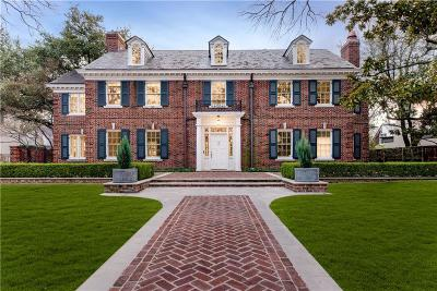 Dallas, Highland Park, University Park Single Family Home For Sale: 4209 Lorraine Avenue