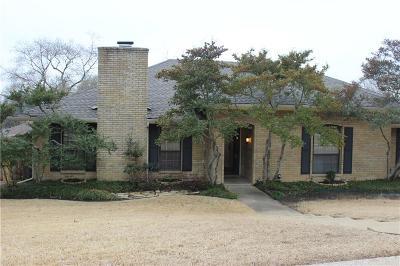 Plano Single Family Home For Sale: 4016 Bosque Drive