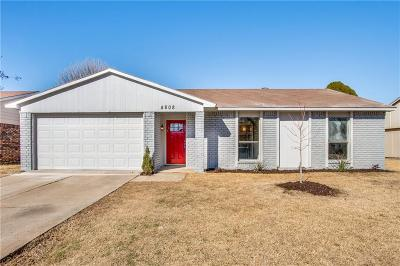 The Colony Single Family Home For Sale: 4808 Garvin Drive