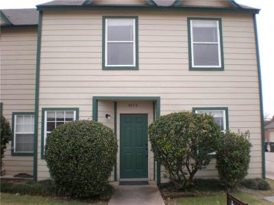 Garland Townhouse Active Option Contract: 3634 Clubview Drive