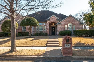 Keller Single Family Home For Sale: 930 Rush Creek Road
