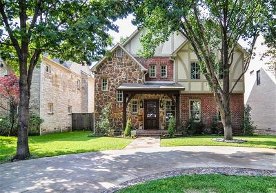 University Park TX Single Family Home For Sale: $1,395,000