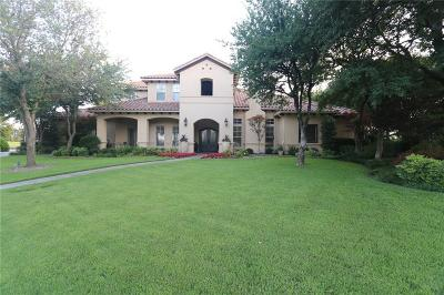 Fort Worth Single Family Home For Sale: 6709 Oak Hill Drive