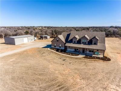 Weatherford Single Family Home For Sale: 4425 Tin Top Road