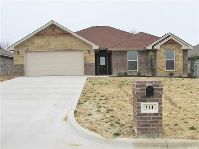Stephenville Single Family Home For Sale: 314 Midnight Shadow