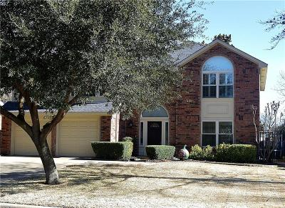 Grapevine Single Family Home Active Option Contract: 4121 Countryside Drive