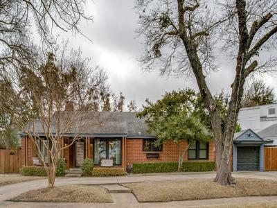 Dallas Single Family Home For Sale: 1414 Junior Drive